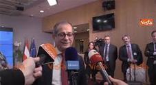 Il ministro: «Momento delle decisioni politiche, ci sono varie opzioni» Video