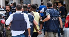 La retata del 10 luglio 2018 nel rione di via Piave a  Mestre