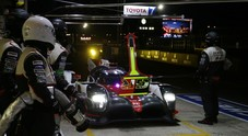 Notte da incubo per Toyota: perde due auto in pochi minuti