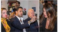 Corona, Silvia e Belen: il «triangolo» ad un evento a Milano, e la Provvedi reagisce così