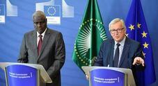 Immagine Juncker: Italia sia attenta ai diritti degli africani