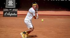 Ibi18, Kei Nishikori vince contro Feliciano Lopez (Foto Paolo Rizzo/Ag.Toiati)