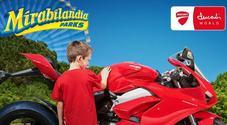 Ducati World in costruzione a Mirabilandia. Nel parco area tematica ispirata alle Rosse di Borgo Panigale
