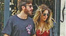Eleonora Pedron e il fidanzato Niccolò De Vitiis a Milano