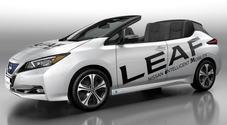 Nissan Leaf Open Car, l'elettrica più venduta al mondo perde il tetto