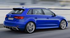 Audi RS3 Sportback, una versione speciale per 25 anni RS. Colori e particolari di design dedicati
