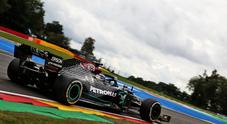 Hamilton comanda il 3° turno libero del GP di Spa, Ferrari sempre peggio con Vettel ultimo