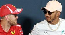 Formula 1, Hamilton: «Io in Ferrari? In futuro non con Vettel»