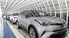 Toyota rivede al rialzo a livelli record produzione veicoli. Nel 2018 ne costruirà 10,59 ml: +1,2%