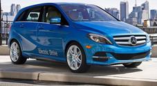 Mercedes Classe B Electric Drive, l'ecologica dà spettacolo: dopo il tour ora anche a noleggio
