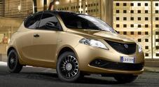 Lancia Ypsilon, arriva nuova serie speciale Monogram. Inedito allestimento con livrea Gold ed eleganti grafismi Y