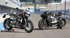 Triumph, debutta nuova Street Triple RS MY20: nuovo stile e più hi-tech