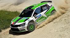 Rally Adriatico, Scandola insuperabile sulla terra con la Fabia R5: 5° successo consecutivo nelle Marche