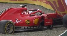 Vettel fuori mentre era in testa, Hamilton vince in Germania. Terzo Raikkonen