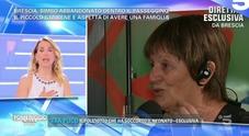 Neonato abbandonato a Brescia, parla la bisnonna che lo ha trovato