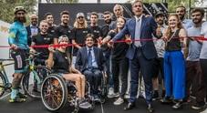 Toyota BNKR Wheel Park, inaugurato a Roma il primo Skate Park anche per disabili