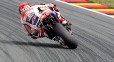 Sachsenring, trionfo di Marquez che allunga nel mondiale, Rossi sbaglia strategia ed è solo ottavo