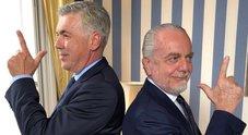 Napoli, De Laurentiis annuncia Ancelotti: «Benvenuto Carlo», «Sono veramente felice e onorato»