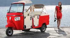 Piaggio Ape Calessino, tre ruote d'autore: a bordo l'atmosfera di Ischia o Portofino