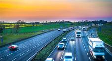 La prima autostrada elettrificata in Italia si trova fra Brescia, Bergamo e Milano