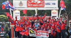 Il 7° sigillo di Ogier a Monte-Carlo vale la 100° vittoria Citroen nel WRC. Neuville (Hyundai) e Tanak (Toyota) sul podio