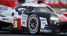 Toyota domina anche il warm up. Ferrari sugli scudi nelle GTE