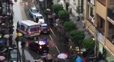 Due sparatorie in pieno centro a Nocera Inferiore: c'è un ferito, fermato un uomo
