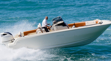 """Invictus e Suzuki Marine: un Suv del mare. Test """"estremo"""" tra le onde del mare di Tropea"""