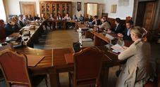 Il tavolo tecnico organizzato in prefettura per parlare dei lavori sull'Alemagna per i Mondiali
