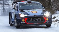 Rally Svezia, Neuville (Hyundai) domina. Latvala (Toyota) è 2°, Ogier (Ford) chiude 5°