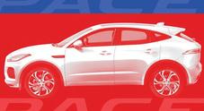 Jaguar pronta a lanciare la E-Pace, Suv compatto ad alte prestazioni. E nel 2018 l'I-Pace elettrica