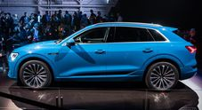 Audi E-Tron, svelato l'avveniristico Suv con cui parte l'offensiva elettrica dei Quattro Anelli