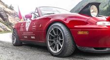 Pirelli Collezione e Mazda MX-5, nuovo record: 2.900 tornanti in 12 ore