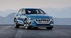 Audi e-tron, arriva il Suv sportivo elettrico dei Quattro Anelli