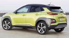 Kona svetta fra i piccoli Suv ideale per la giungla in città. Hyundai propone il suo sport utility