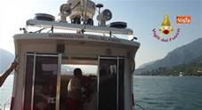 Calciatrice dispersa nel lago di Como, le ricerche dei sub col Remotely operated vehicle