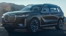 BMW X7 iPerformance Concept, il primo maxi Sport Utility alla bavarese
