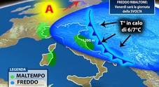 Arriva il freddo dalla Russia temperature in picchiata L'inverno arriva prepotente