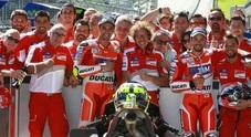 Gp Austria, storica doppietta Ducati: primo Iannone, secondo Dovizioso, Rossi quarto