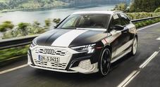 Audi A3, ultimi test per la 4^ generazione. Percorsi da rally per valutare novità di ESC e trazione Quattro
