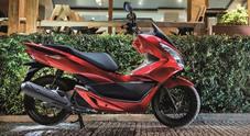 Honda PCX125, il best-seller europeo si rifà il look e migliora consumi e prestazioni
