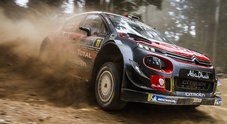 WRC, Le due Citroen in testa in Australia, Neuville ha praticamente già perso il mondiale