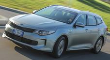 Kia Optima Sportswagon plug-in hybrid, tecnologicamente all'avanguardia. Un asso nella manica per vincere nelle flotte