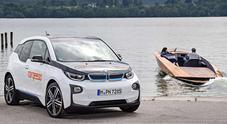 BMW alimenta la mobilità elettrica sull'acqua. Il motori della i3 per barche e taxi marini