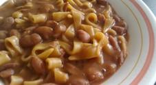 La pasta e fagioli è il top tra i piatti per combattere il freddo
