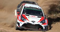 Lappi, un fulmine: nel rally di Sardegna Toyota ha trovato un nuovo talento