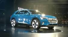 Presentazione Audi e-tron, il primo Suv elettrico svelato a San Francisco