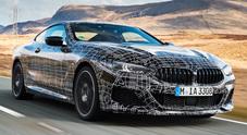 BMW Serie 8, collaudi finali per la super coupé con motore V8 da 530 cv
