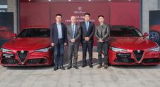 Alfa Romeo su Alibaba: vendute on line in Cina 350 Giulia in 33 secondi