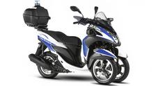 Yamaha Tricity 125: c'è anche la versione per la Polizia Urbana